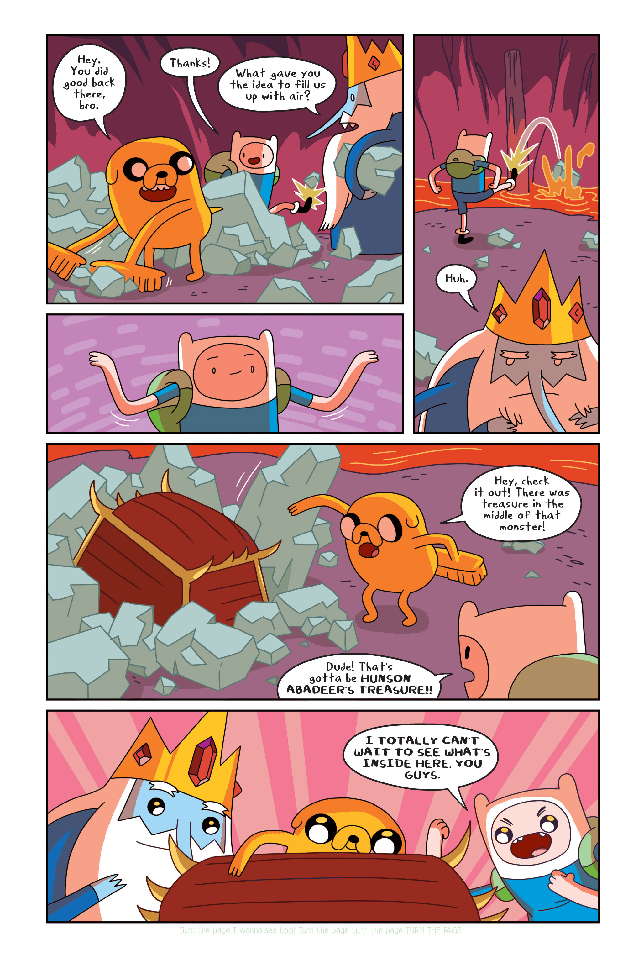 Read online Adventure Time comic -  Issue #18 - 12