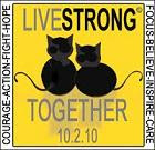 We are supporting Livestrong Cancer Awareness