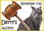 Derry's Auction and Other Fun Stuff each week!