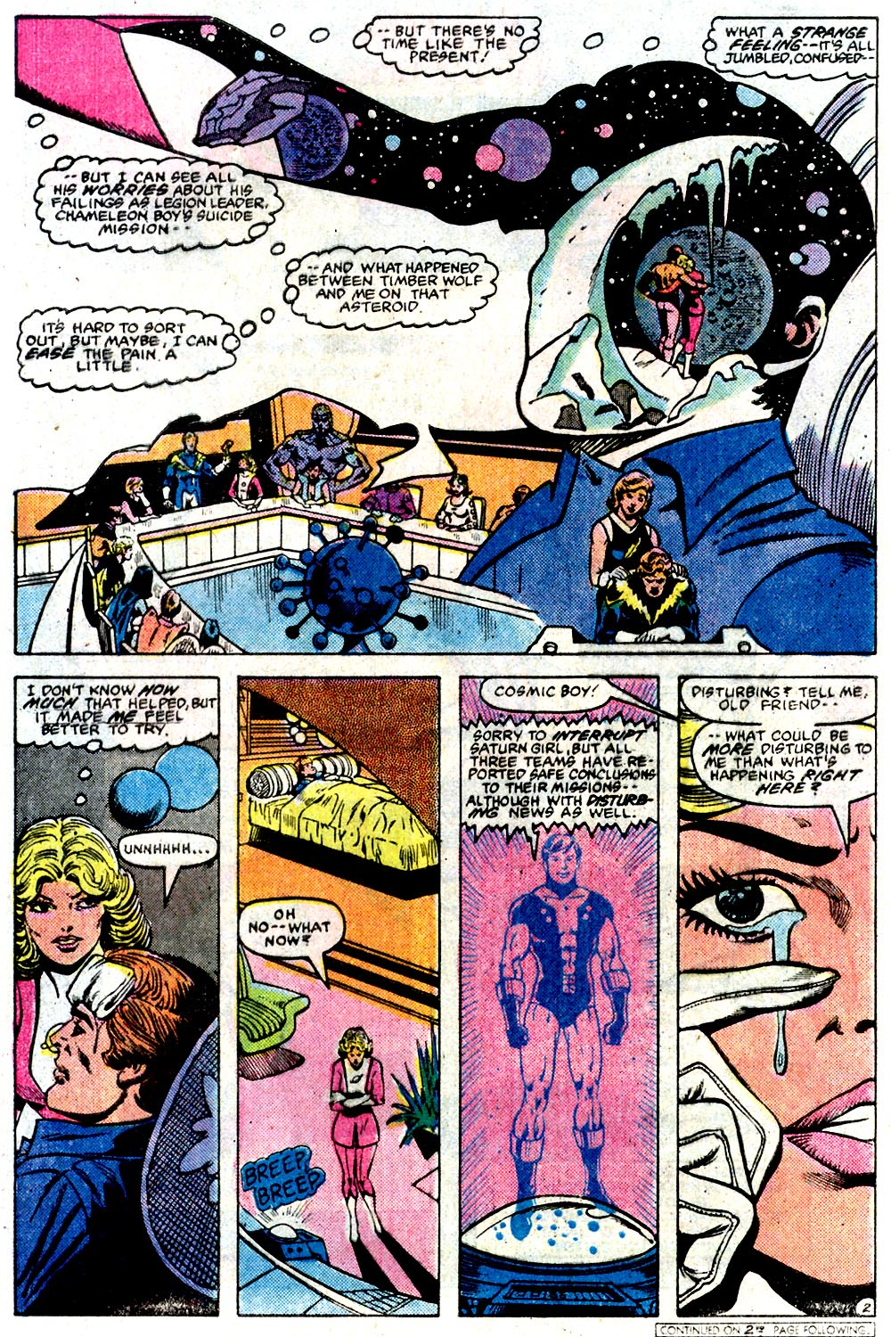 Legion of Super-Heroes (1980) 291 Page 21