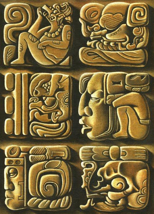 Aztec Hieroglyphics & Meanings