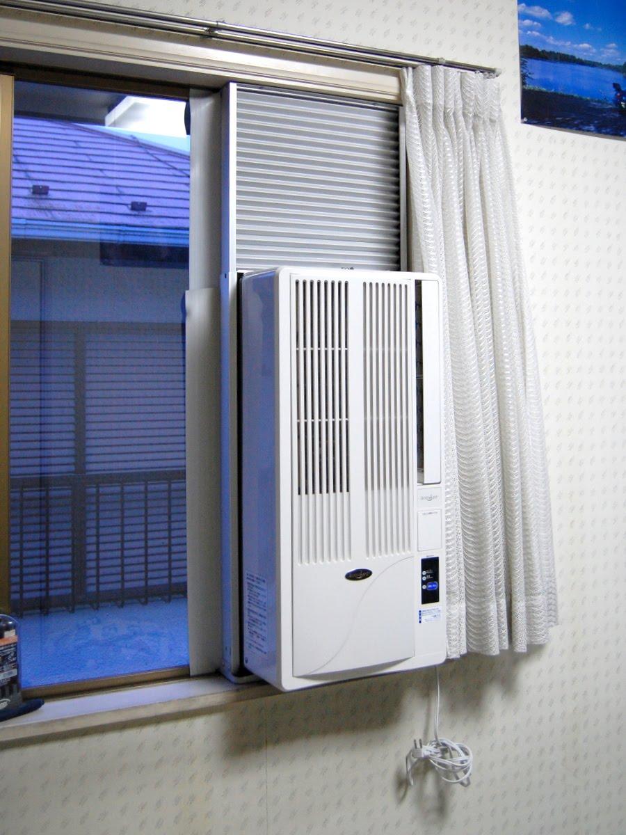 窓 付け エアコン 窓用エアコンのおすすめ7選 人気メーカーやメリット・デメリットを紹介