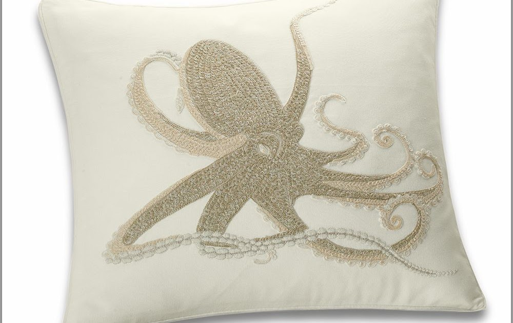 Everything Octopus: Pottery Barn Octopus Pillow