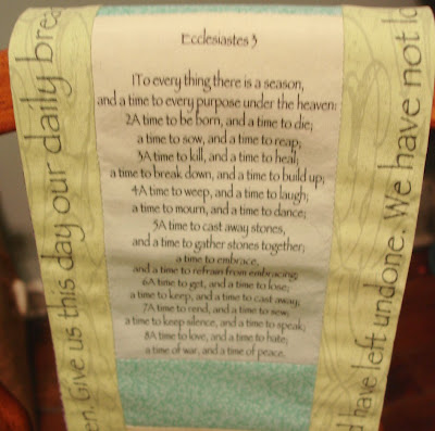 Colored Thread Prayer Stole