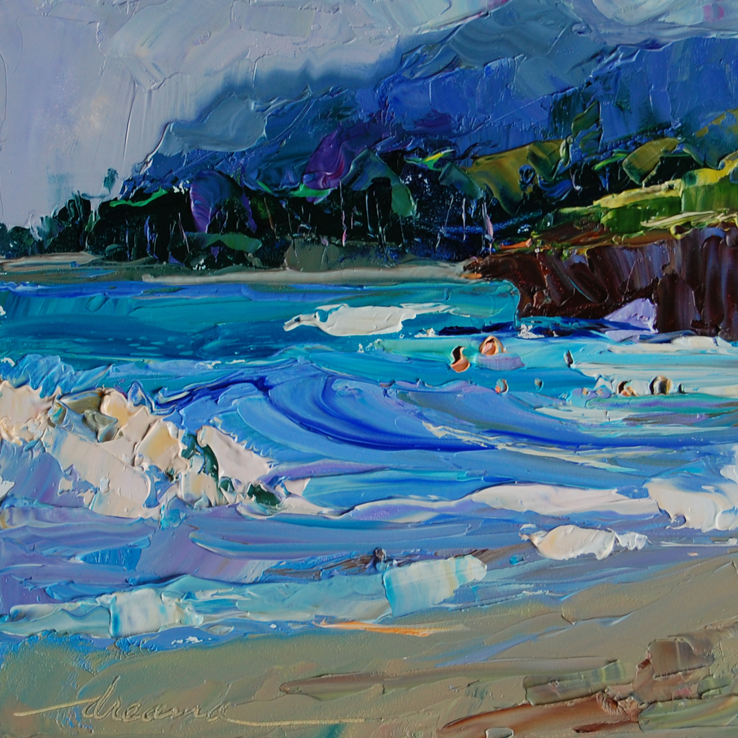 Dreama Tolle Perry Artist and Writer quotNorth Shore