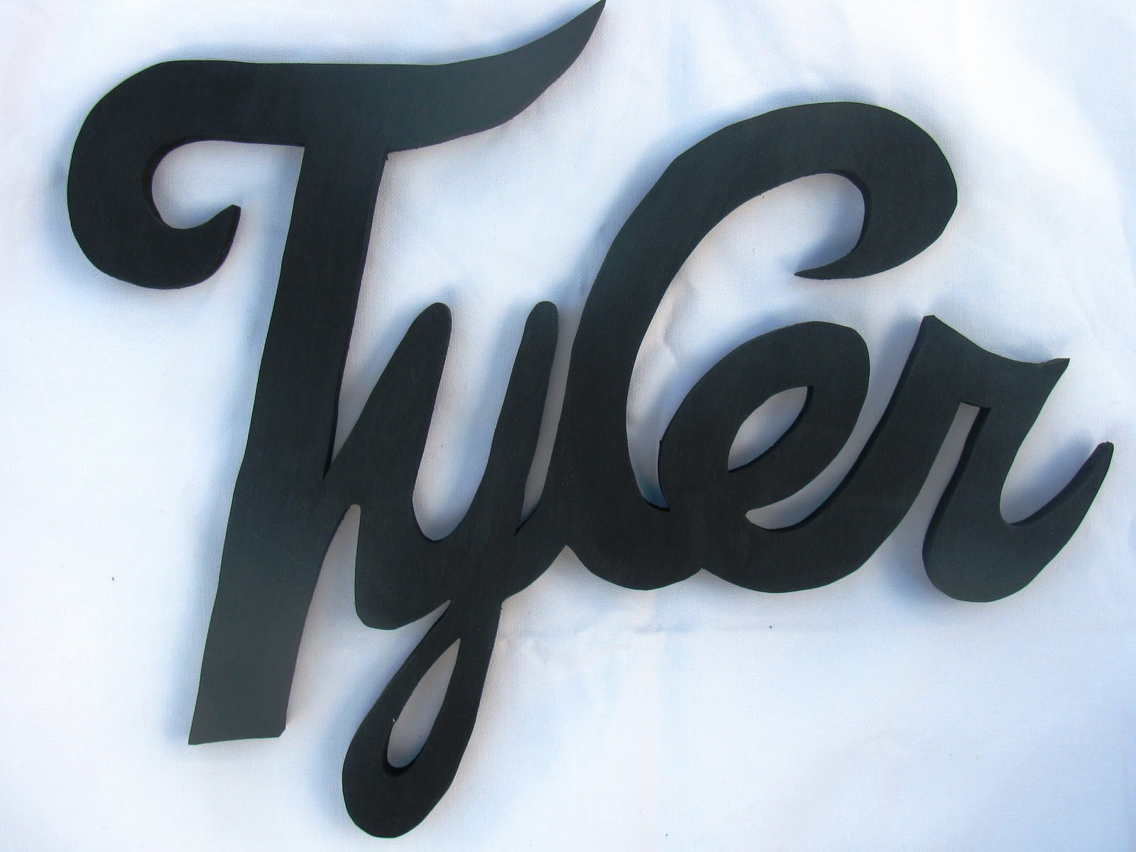 %name%: Lightyear Designs~ Custom Wood Name Signs: Tyler, Blake