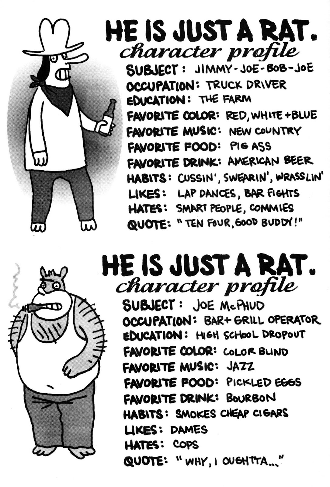 Read online He is Just a Rat comic -  Issue #1 - 47