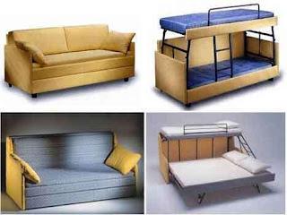 Sofa kali ini merupakan jenis multifungsi yang menyediakan perubahan paling banyak. Yakni, memberikan fasilitas 2 sampai 3 tempat tidur untuk anda.