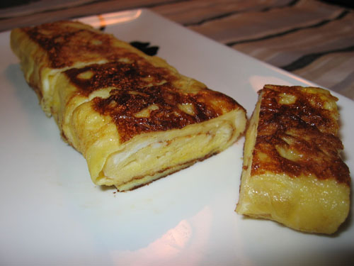 how to make korean rolled egg omelette