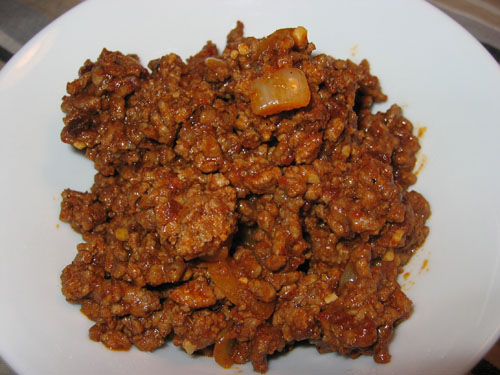 Texmex Seasoned Ground Beef