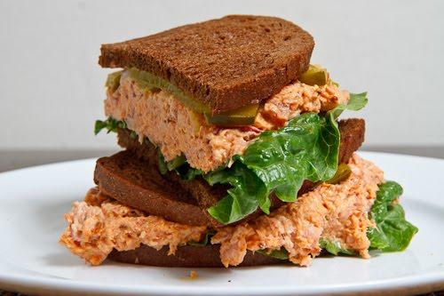 Deviled Ham Sandwich