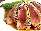 Sesame Crusted Ahi Tuna Steak