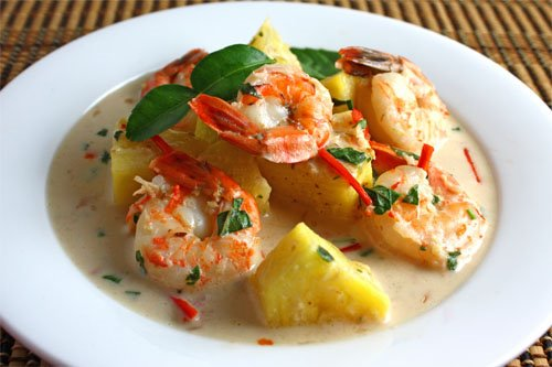 Prawn and Pineapple Curry