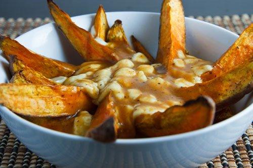Sweet Potato Poutine on Closet Cooking