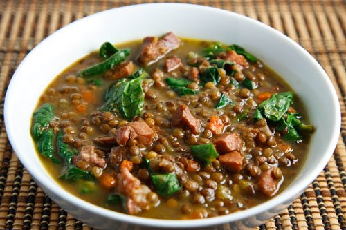 Image result for Slow Cooker Lentil and Ham Soup
