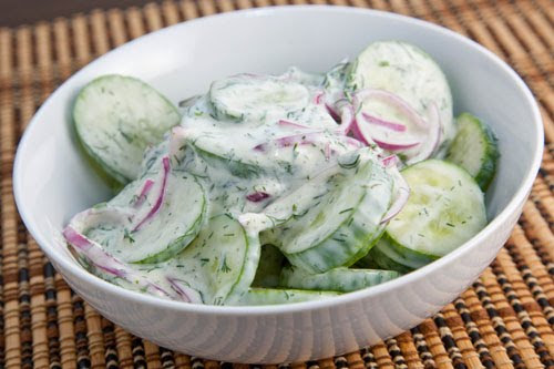 Cucumber Salad (with images, tweets) · JillMckenzie