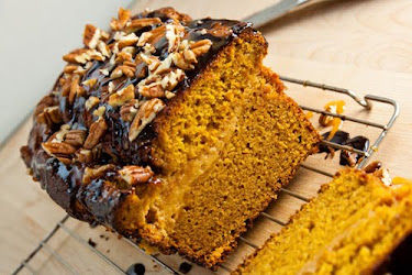 Pumpkin Caramel Cheesecake Turtle Bread