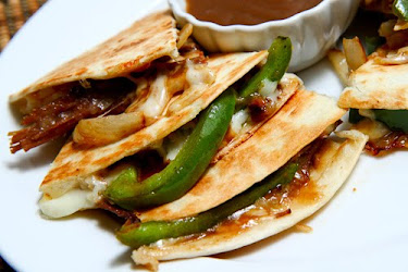 Roast Beef Quesadillas