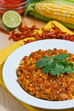 Texmex Style Corn Fritters