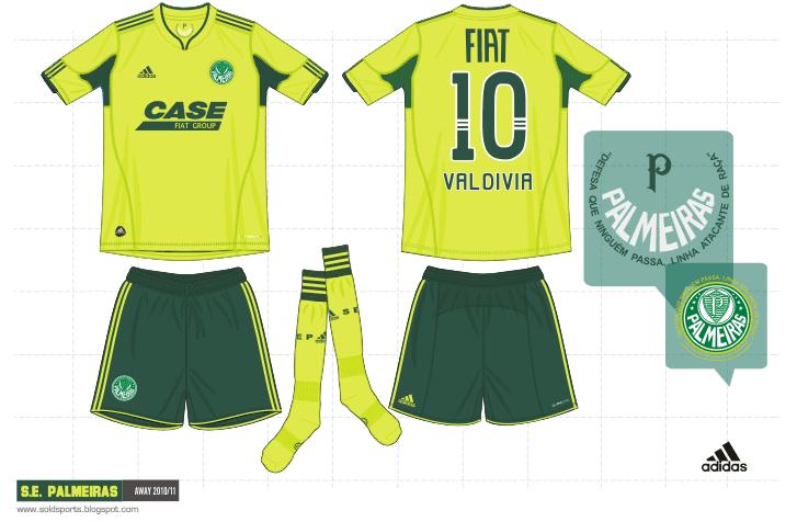 Sold Sports Design  Palmeiras Oficial kits 2010 807400f81fa39