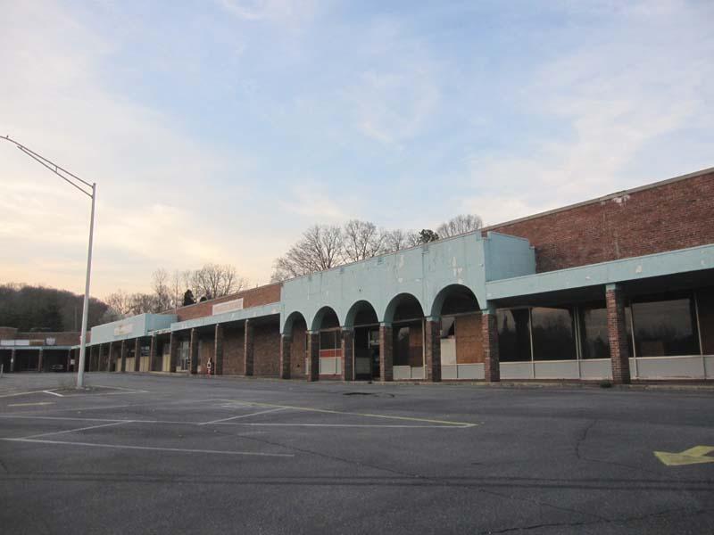 Sky City Retail History Parkway Plaza Shopping Center