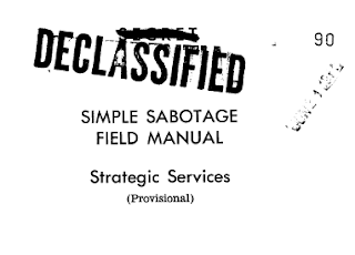 The Simple Sabotage Field Manual, Cubicle Edition