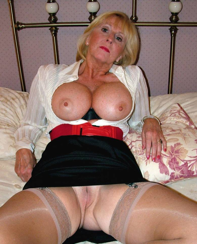 Seems me, horny old grannies rather
