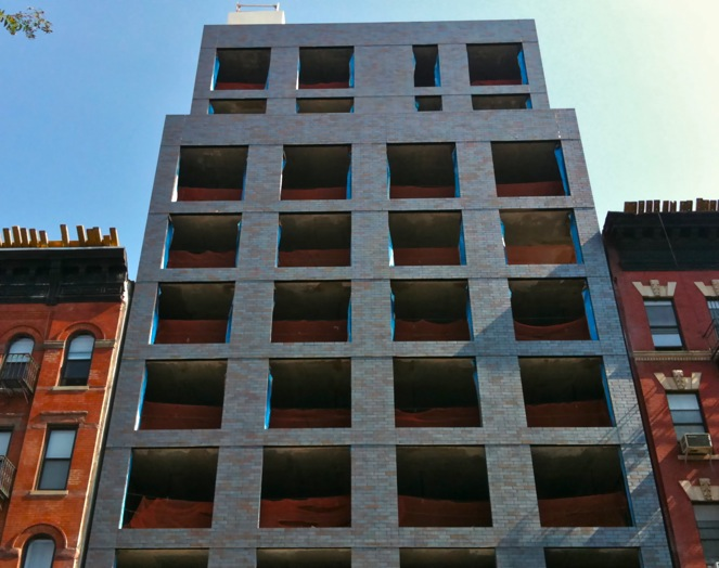 We Were Recently Informed That The New Grey Brick Building At FDB 8th Avenue And 112th Street Which Is Currently Getting Glassed Actually One Of Three