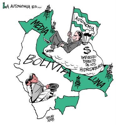 O Golpe na Bolivia, segundo Latuff