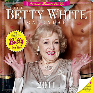 Betty White - The Pin Up Calendar Girl!