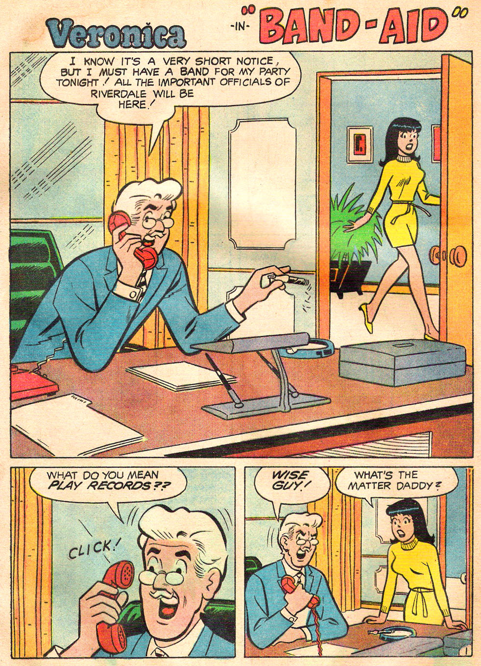 Read online Archie's Girls Betty and Veronica comic -  Issue #157 - 13