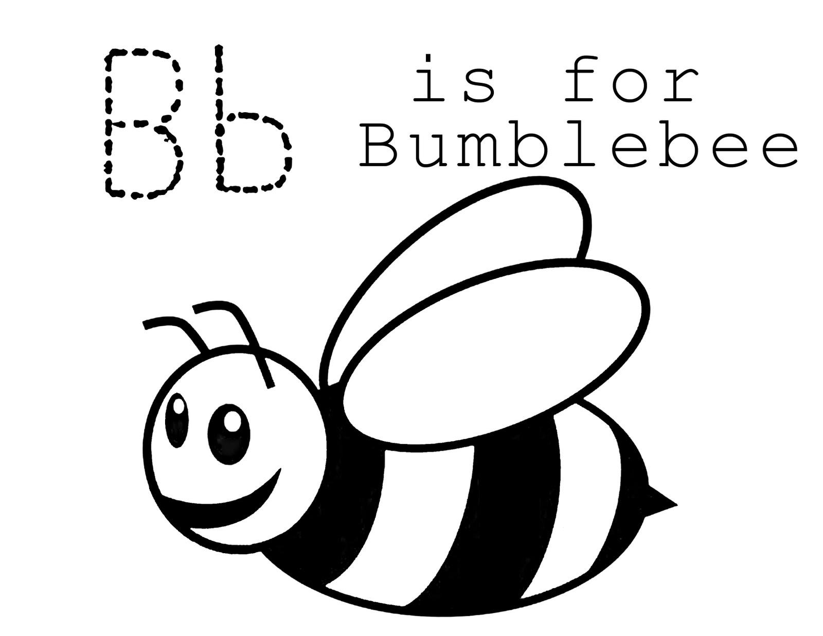 lawteedah letter b bumblebee