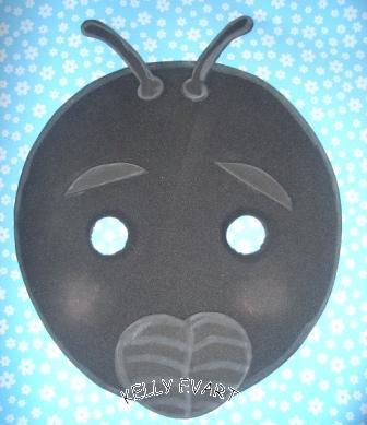 Kelly Evarts Mascaras Para A Peca A Formiga E A Neve