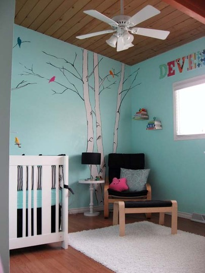 Bird Theme P Without A Shout Out To Deven S Lovely Mum Maya The Nursery She Created For Him Was Featured On Oh Dee Doh While Back And I Just Love