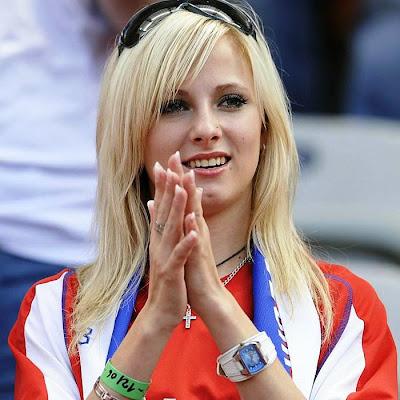 Mujeres hermosas fútbol