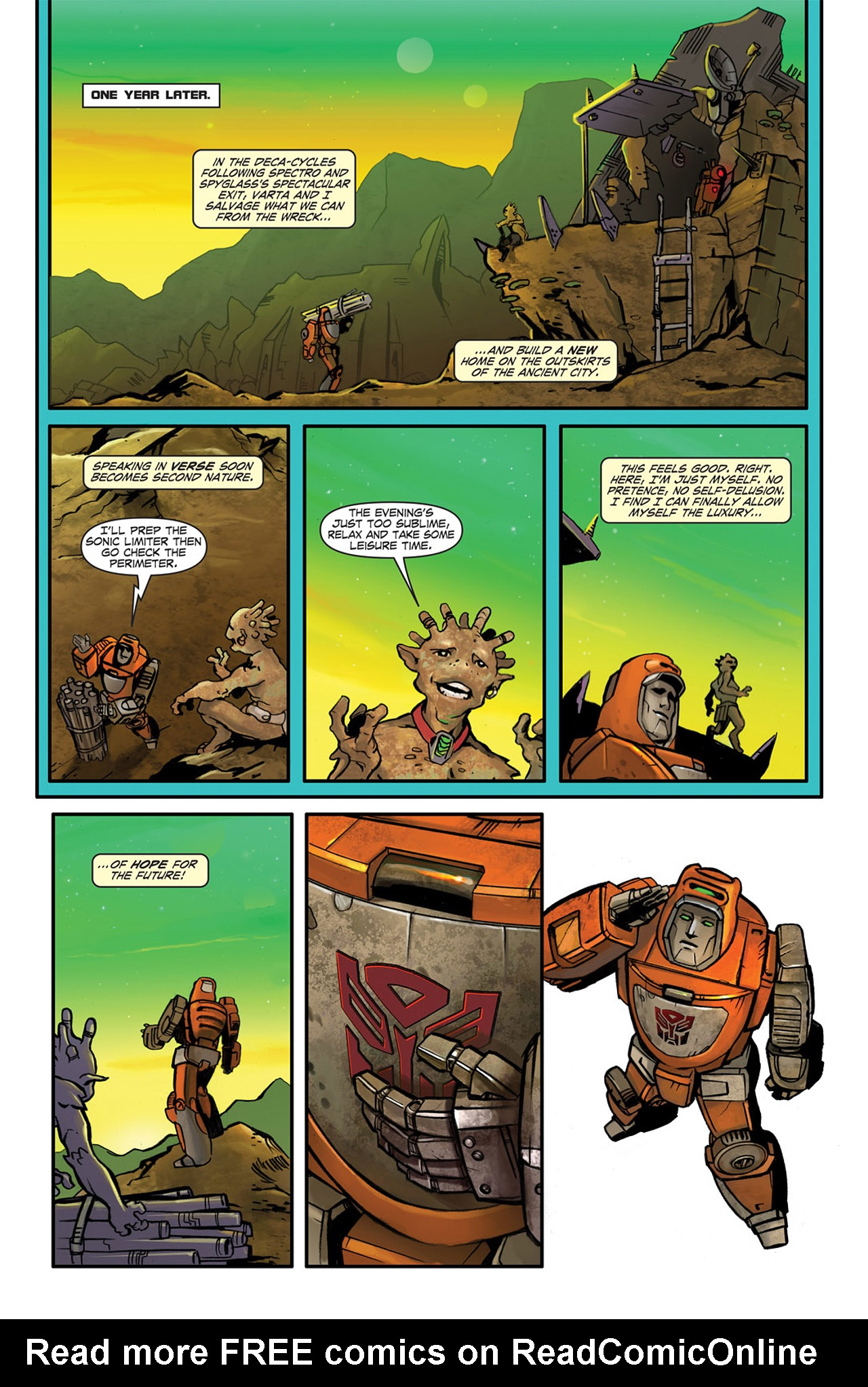 Read online Transformers Spotlight: Wheelie comic -  Issue # Full - 24