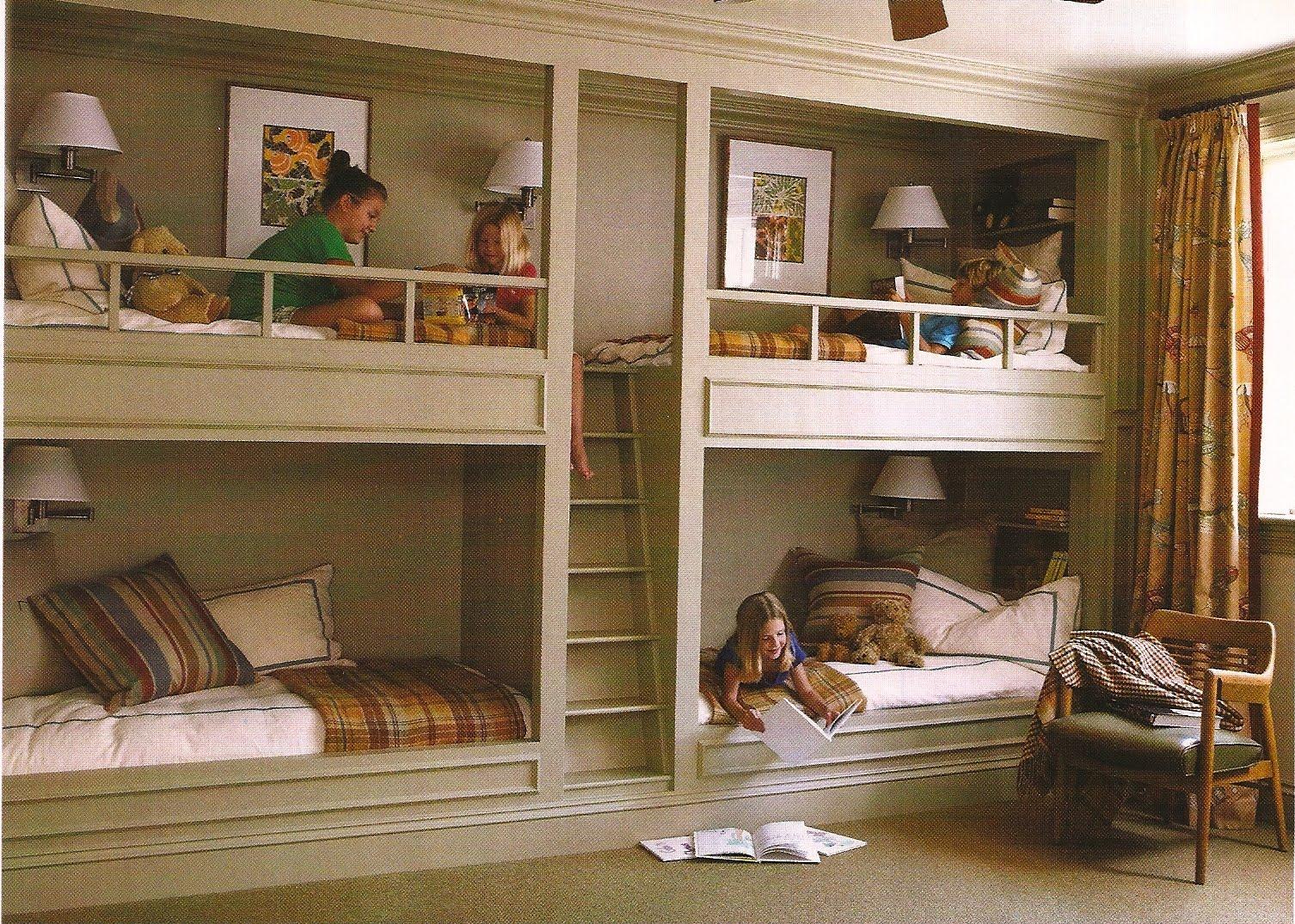 design dump: built-in beds