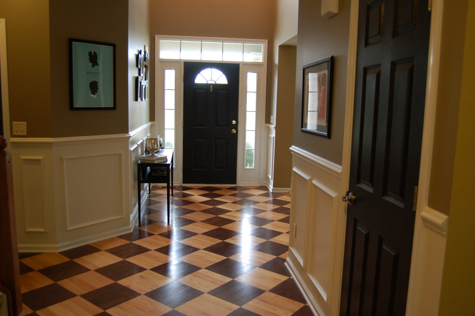 Home Hallway Design Ideas: Design Dump: *flattered* Jen's Foyer