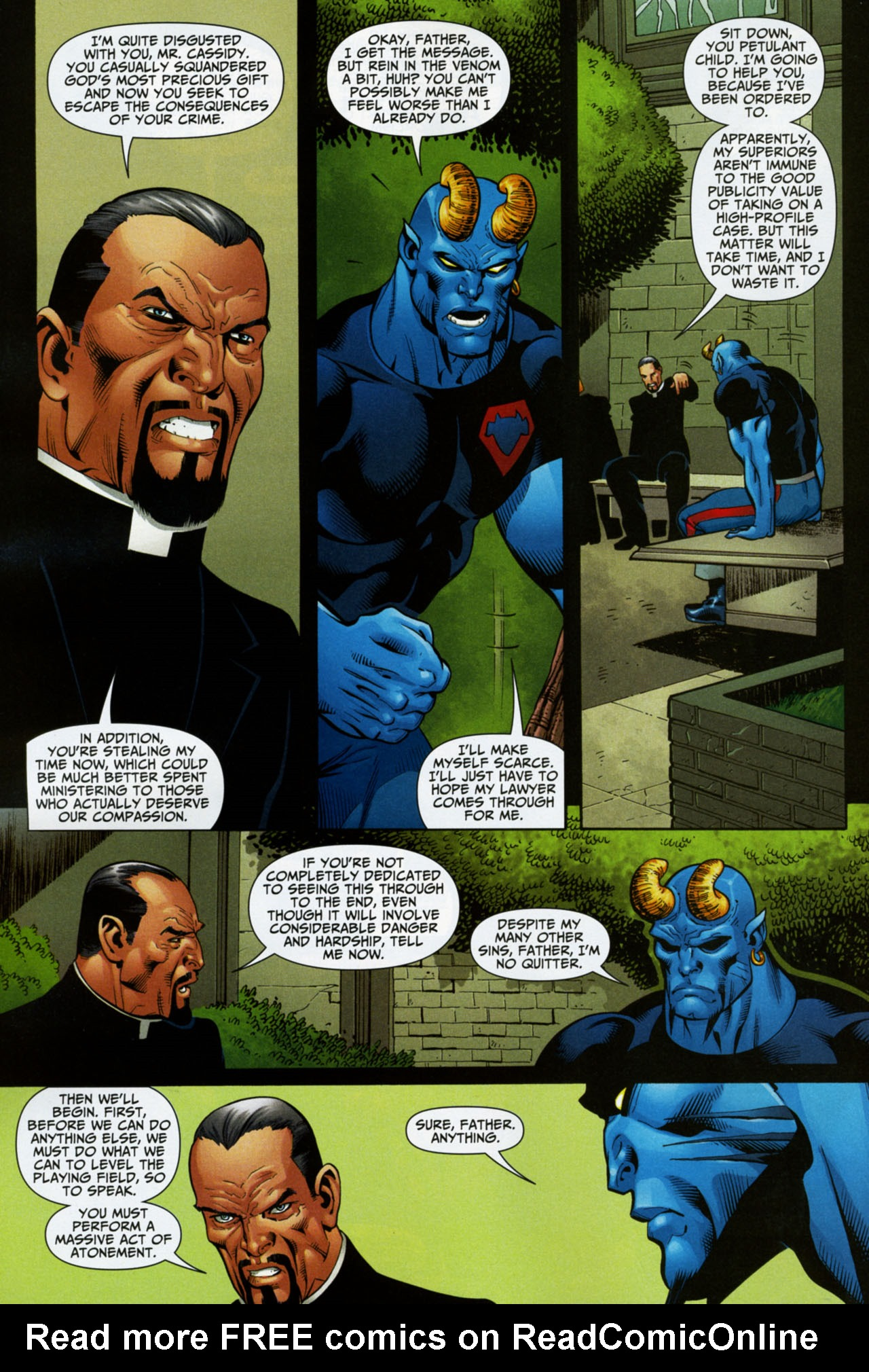 Read online Shadowpact comic -  Issue #16 - 18