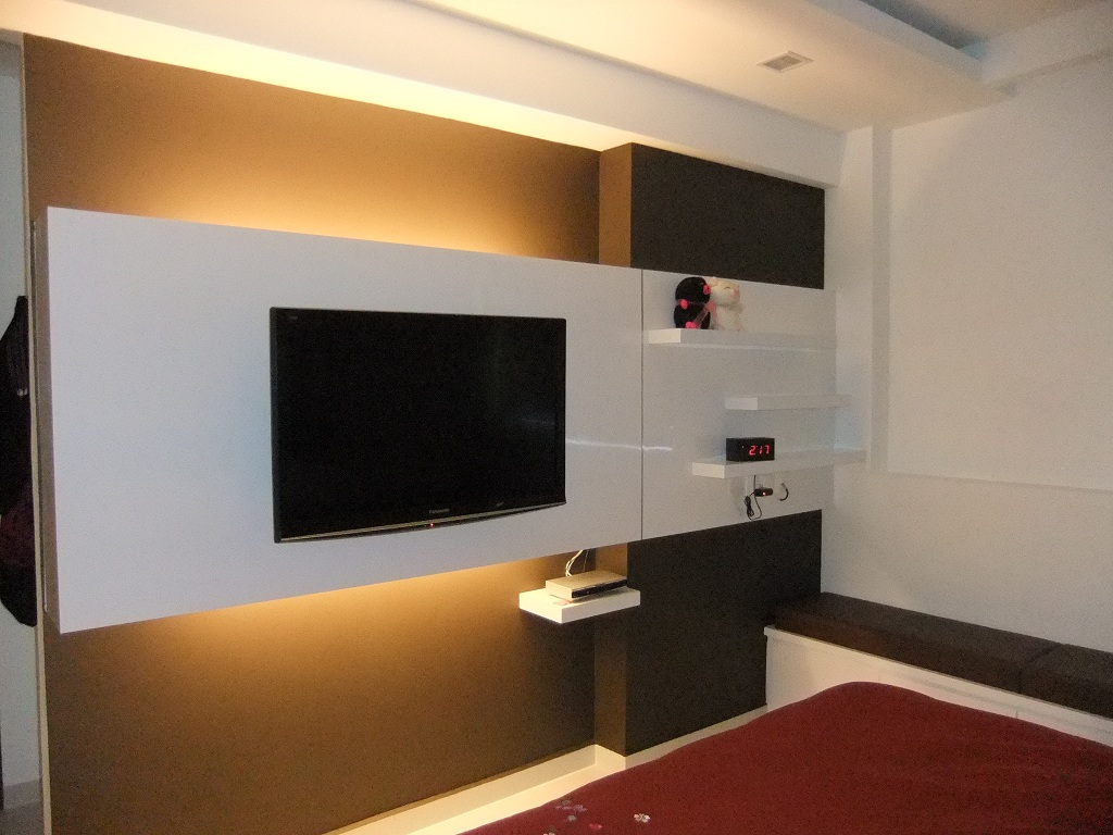 Simple feature wall | feature wall | Pinterest | Tv ...