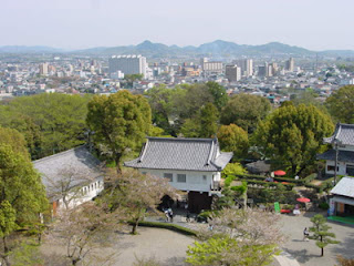 View from Inuyama Castle