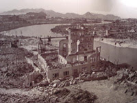 The destruction of Hiroshima