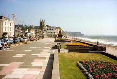 Teignmouth Promenade, Devon