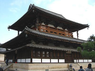 Kondo, Horyuji Temple Nara.
