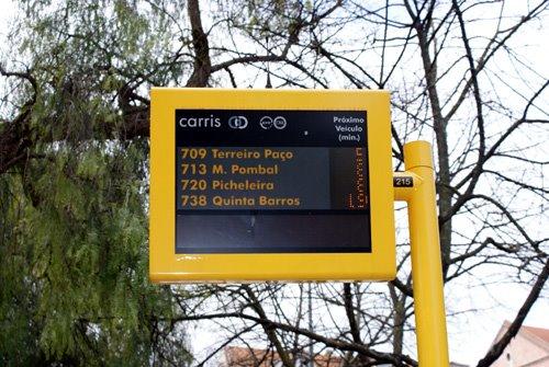 Lisbon Bus Stops