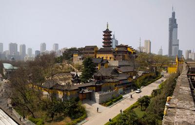 Jiming Temple Nanjing
