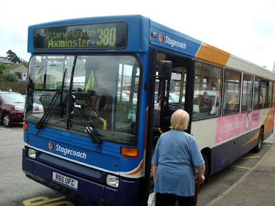 Buses From Axminster Station