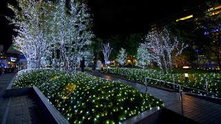 Christmas Lights in Tokyo Japan