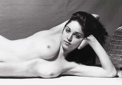 Exposição mostra 34 fotos de Madonna nua aos 20 anos, deu no BlueBus