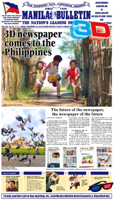 3D Newspapers Philippines